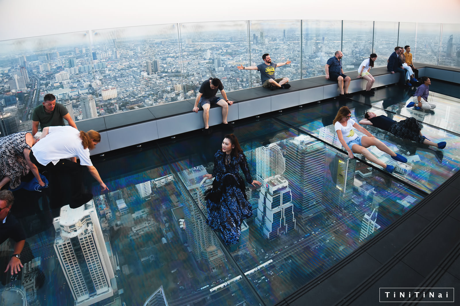 Mahanakhon Skywalk Bangkok