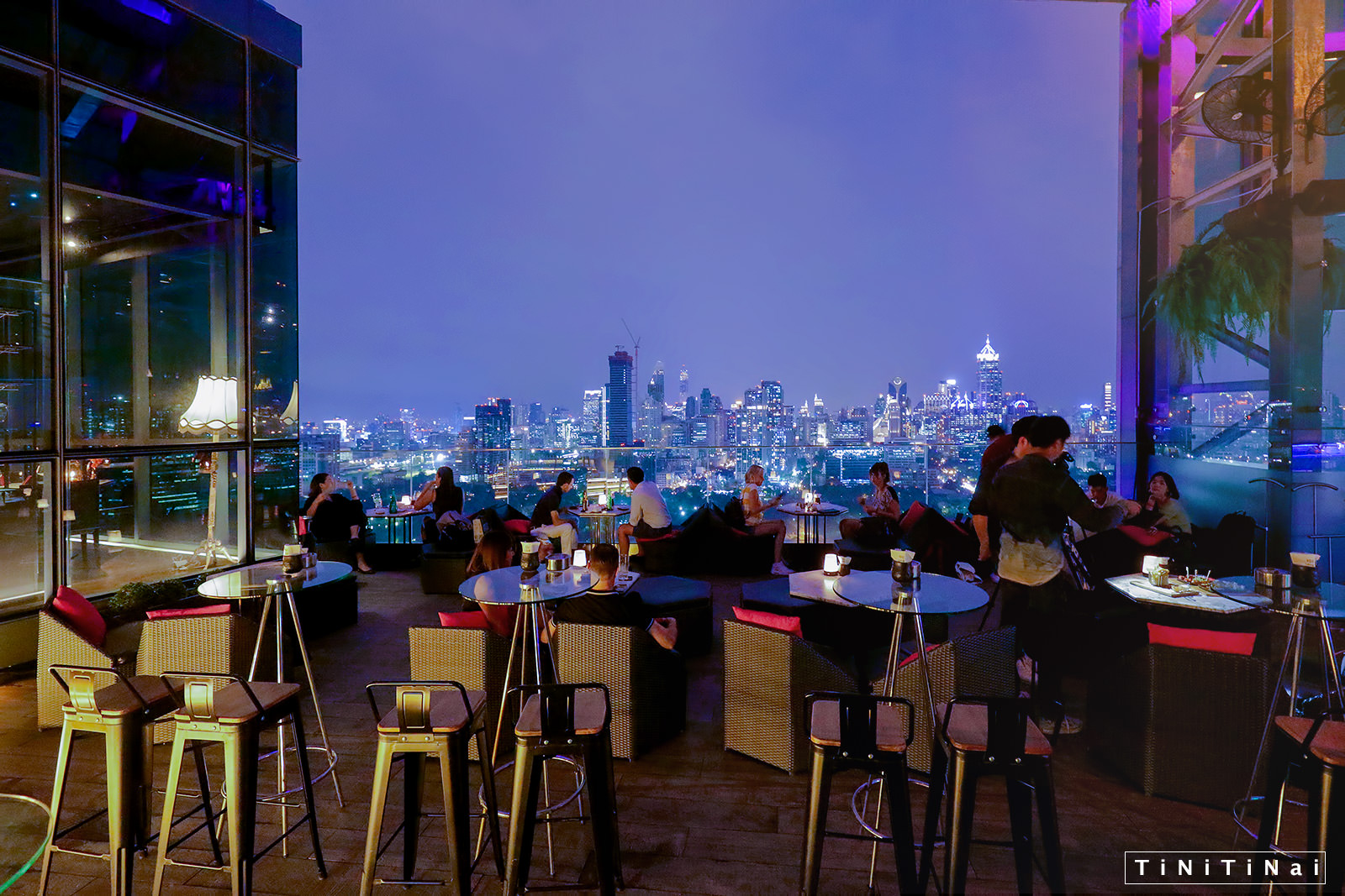 HI-SO Rooftop Bar Bangkok